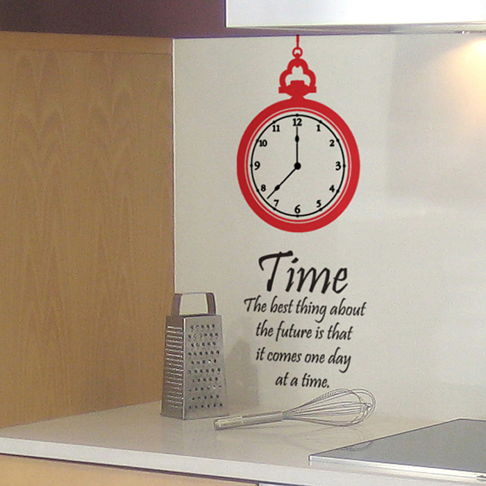 벽장식스티커 데코시트 벽문구 서재인테리어 S241 둥근시계(완제품B)